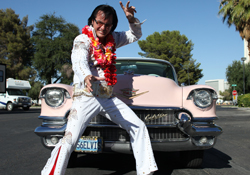 Eddie Powers as Elvis